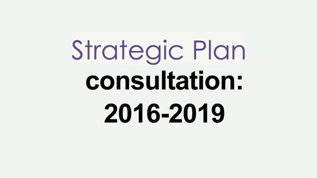 2016-2019 strategic plan - Bar Standards Board Consultation